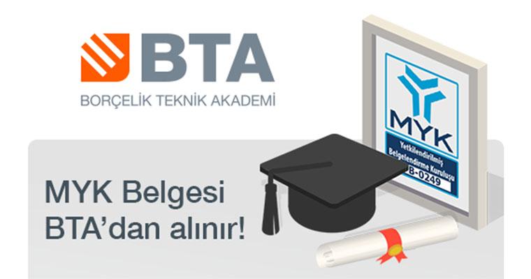 Borçelik Teknik Akademi Akredite Oldu!