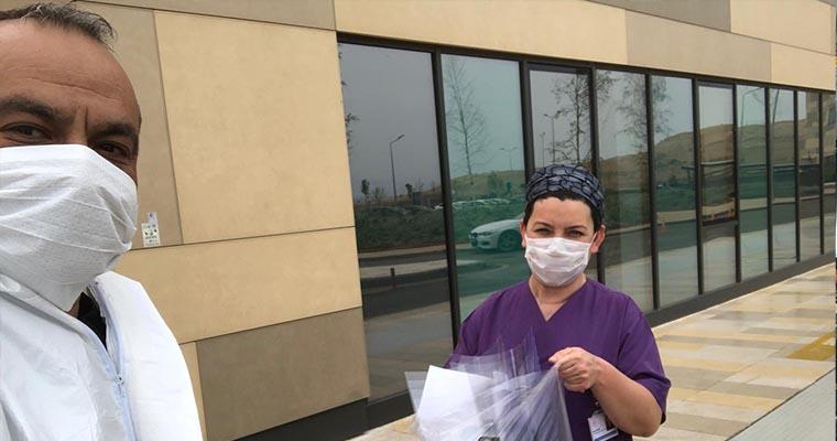 Borçelik Maker Kulübü Bursa'daki Hastaneler için 3800 Adet Siperlikli Maske Üretti